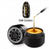 Spider gel #05 Golden