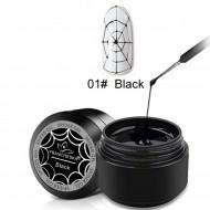 Spider gel #01 Black
