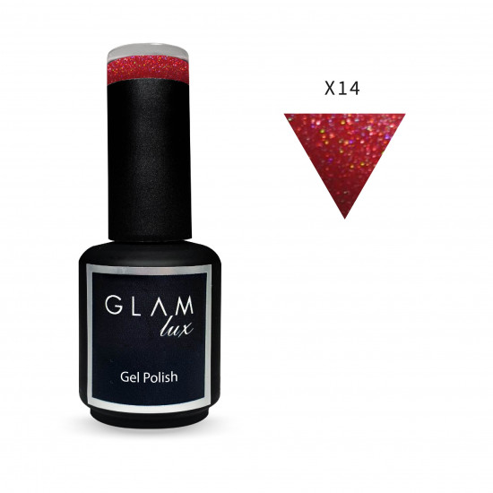 Gel polish Glam Lux X14