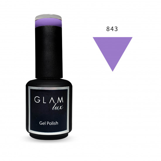 Gel polish Glam Lux 843