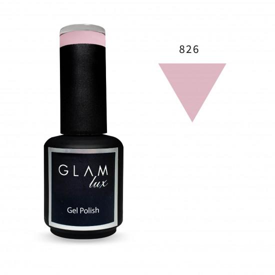 Gel polish Glam Lux 826