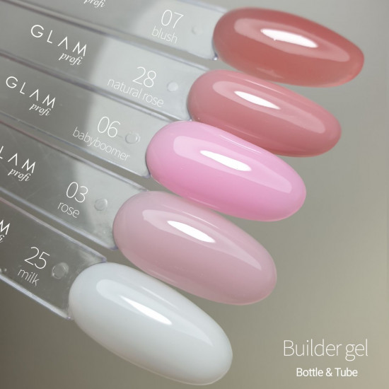 Glam Profi builder gel BLUSH 30ml
