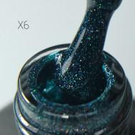 Gel polish Glam Lux X6