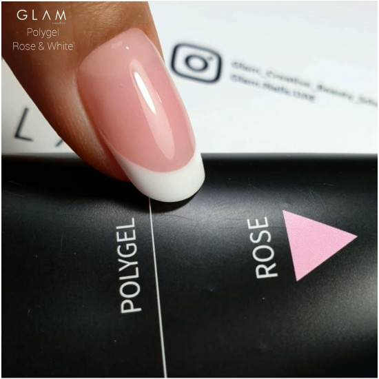Polygel Glam Profi ROSE