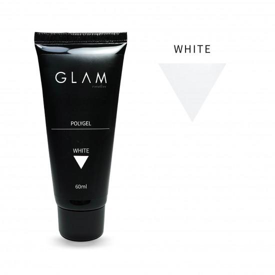 Polygel Glam Profi WHITE