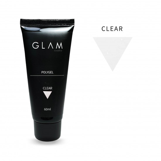 Polygel Glam Profi CLEAR