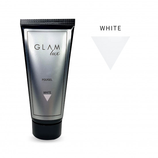 Polygel Glam Lux WHITE