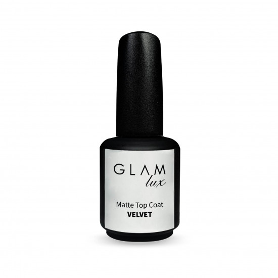 GLAM LUX VELVET MATTE TOP COAT