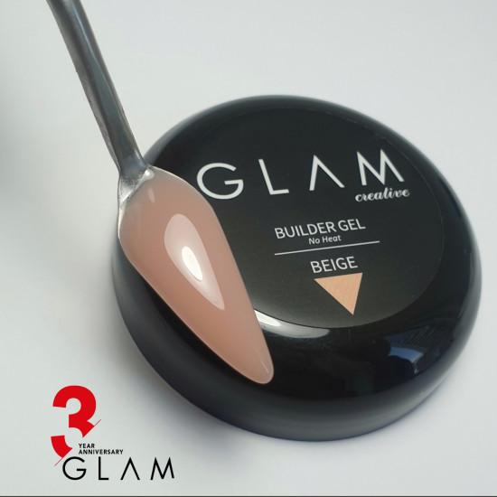 Glam Profi No Heat Builder Gel BEIGE 30ml