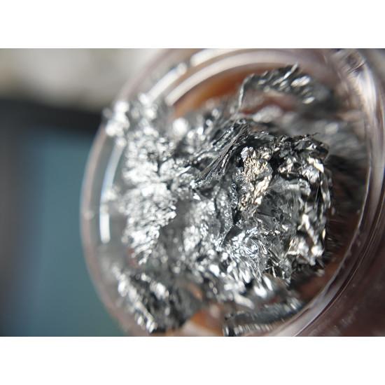 Nail Foil Silver