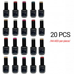 Gel Polish GLAM Lux 20pcs /any color/